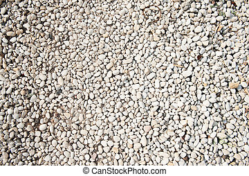 Loose gravel texture with natural imperfection