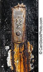 Rusty Old Glasgow Flat Buzzers - A Rusty Old Buzzer Or...