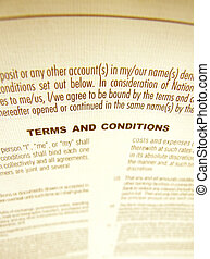 Business agreement - Close up a business agreement