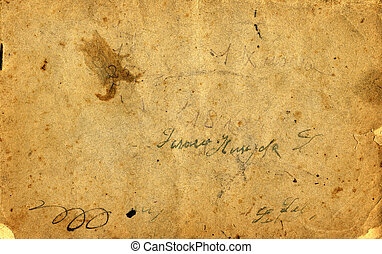 Antique paper - Antique grunge paper close up , hi-res ....