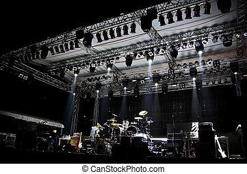Stage in Lights - DARK
