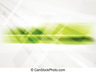Abstract green technology background - Abstract green...