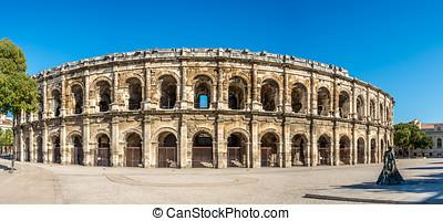 Ancient Roman Theatre (Arena) in Nimes
