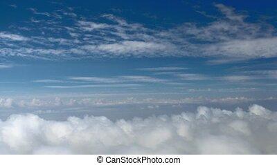 HD, -, vuelo, en, el, nubes,