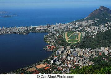 rio de janeiro - Rio de Janeiro, view from air