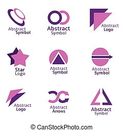 Abstract icons