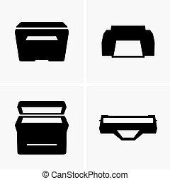 impresoras, y, cartucho,