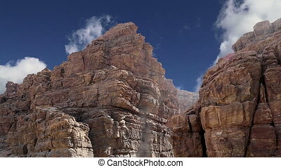 Rocks Wadi Mujib, Jordan - Rocks Wadi Mujib -- national park...
