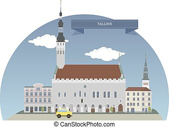 Tallinn, Estonia - Tallinn, capital and largest city of...