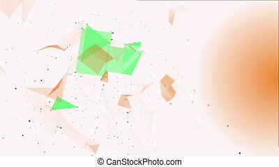 Structural Fragments4 - Abstract background with numbers and...