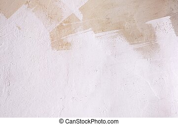 Old layered stucco wall - Background of grunge stucco wall...