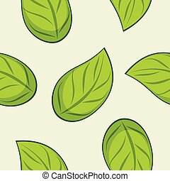 Seamless leafy texture for wrap design
