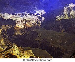 Grand Canyon, Arizona - Hopi Point in Grand Canyon, Arizona