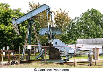 Oil industry little equipment installation