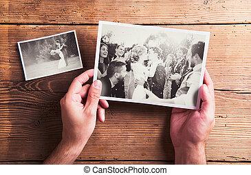 相片, 婚禮