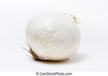 White Onion - Natural mild White Onion isolated against...