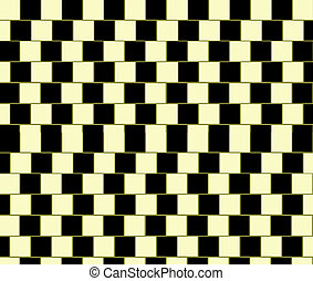 Parallel Lines Illusion - A visual illusion in which...