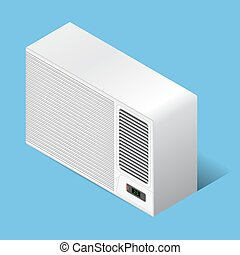 Airconditioner - White airconditioner for medium room,...