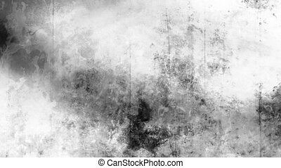 Black and white grunge texture six - Looping black and white...