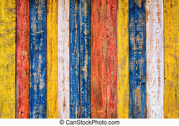 Wooden Background - Background of Wooden Fence from...