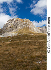 mountains in Durmitor national Park, Montenegro