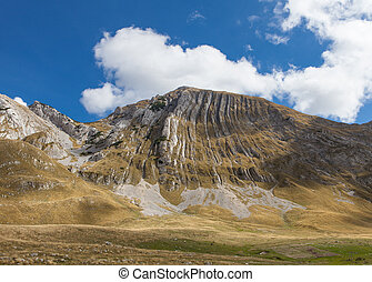 mountains in Durmitor national Park