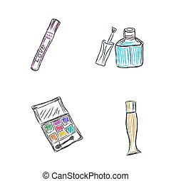 Makeup products - Sketch, Makeup, products, cosmetics,...