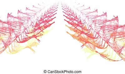 Boulevard. With alpha channel. - HD abstract fractal art...