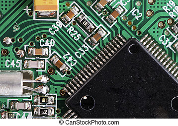 Integrated Cicuit Technology - Macro of an electronic...