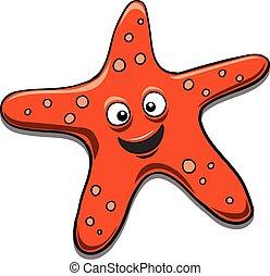 Starfish black and white