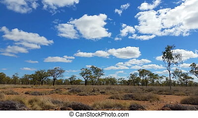 Outback Australia Landscape - This clips is of an outback...