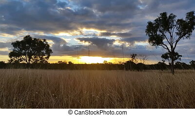Australian Landscape Sunset Sunrise