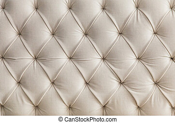 Light upholstery white sofa texture, pattern background -...