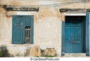 Door and window disintegrated