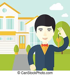 Real estate agent.