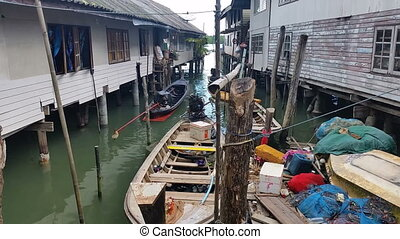 Thailand Fishing Village Panyee - Travel Holiday - Ko Panyi...