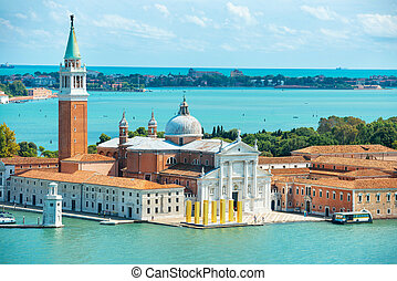 View of San Giorgio island - View from San Marco to San...