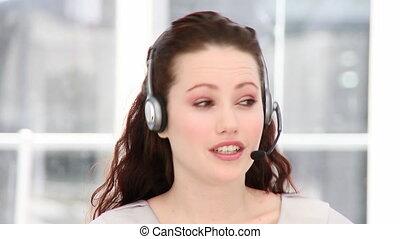 Young custormer service representat - Young customer service...