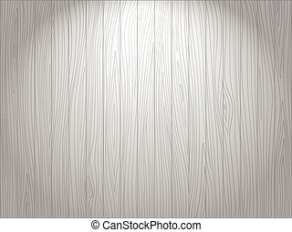 Wooden white vector background - Black and white hand drawn...