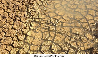 Drought Mudcracks or desiccation - Mudcracks or desiccation...