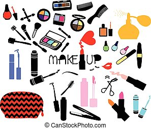make up cosmetic set
