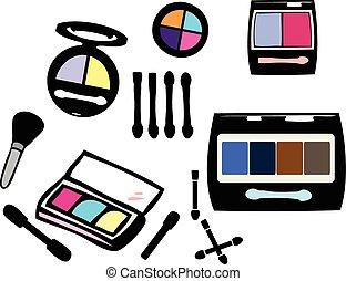 eye shadow cosmetic set
