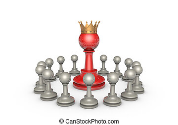 Parliamentary elections or the political elite (chess...