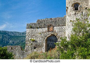 Haj-Nehaj ancient fortress main gate - Main gate of...