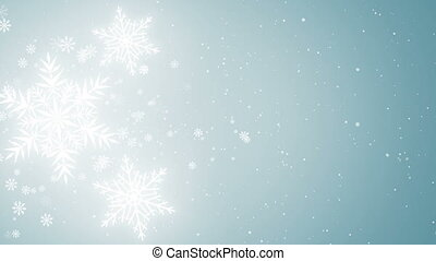 Beautiful Snowflakes background - Beautiful Snowflakes -...