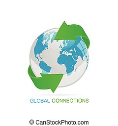 Global Connections Illustration
