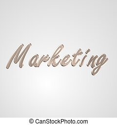 3D Text Marketing - 3d text for business and website design...
