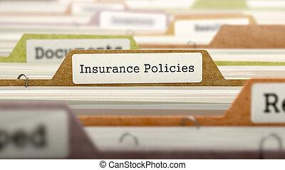 Folder in Catalog Marked as Insurance Policies - Folder in...