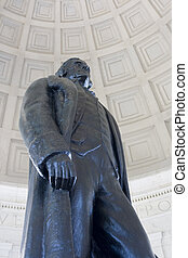 Thomas Jefferson - Statue of Thomas Jefferson at Jefferson...