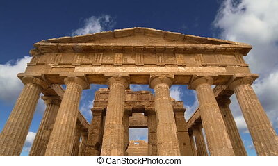 Ancient Greek temple of Concordia (V-VI century BC), Valley...
